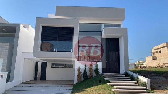 Casa Com 3 Dormitórios À Venda, 220 M² Por R$ 899.000 - Condomínio Ibiti Reserva - Sorocaba/sp - Ca0392