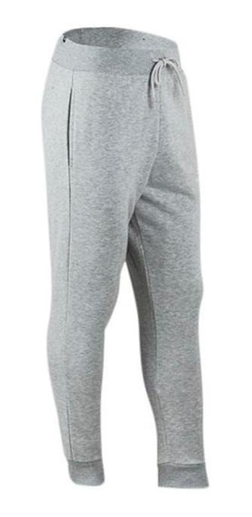 Pantalon New Blance Essentials Con Puño Gris Hombre