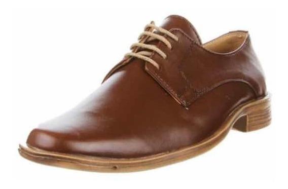 Zapato De Vestir Pizzoni Marrón - Talle 41 Nuevo