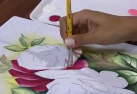 Dvd Pintura Em Tecido - Frete Grátis!!!