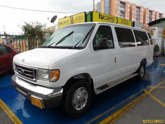 Autobuses Microbuses Ford Econoline Van 350