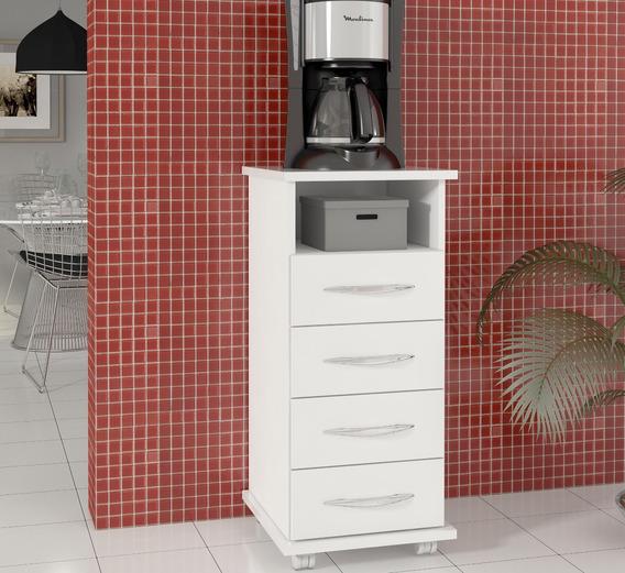 Armário Gaveteiro Cozinha Suport Galão Água Casa Área Móveis