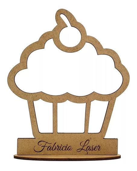 10 Centros Mesa Cupcakes Personalizados Bases Panquecitos