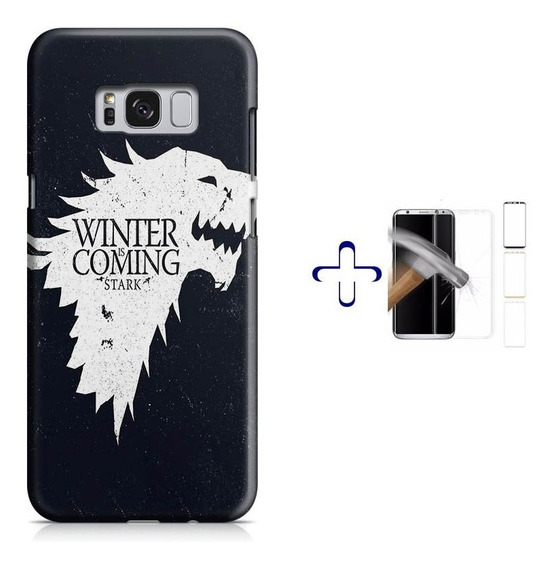 Kit Capa Galaxy S8+ Game Of Thrones+pel.vidro (bd01)