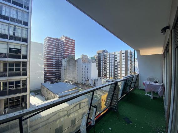 Por 24 Meses ( No Temporada) 2 Ambientes A La Calle Con Balcón