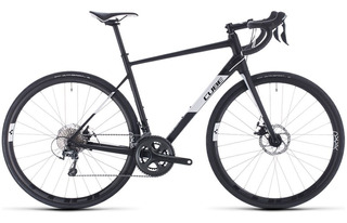 Bicicleta Cube Attain Race 28 Disco Ruta 2020 Planet Cycle