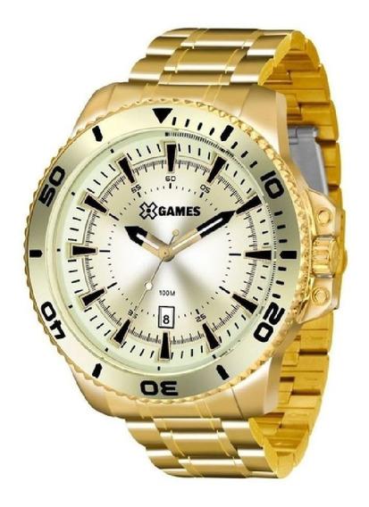 Relógio Xgames Xmgs1024-c2kx - Dourado