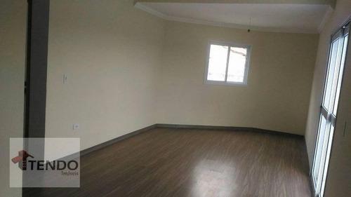 Sobrado 150 M² - Venda - 3 Dormitórios - 1 Suíte - Vila Palmares - Santo André/sp - So0349