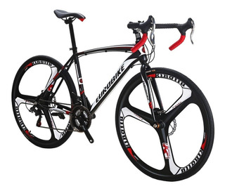 Eurobike Bicicleta De Ruta Tsm550 Bicicleta Freno Disco