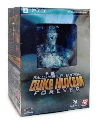 Duke Nukem Forever Balls Of Steel Edition Ps3 Lacrado 2k