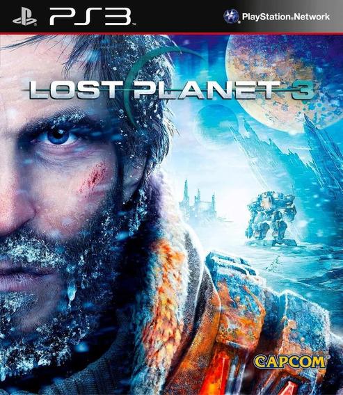Jogo Ps3 Lost Planet 3 Midia Fisica Novo Lacrado!!