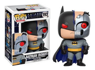 Batman Robot Funko Pop Figura Muñeco Batman Dc Animated