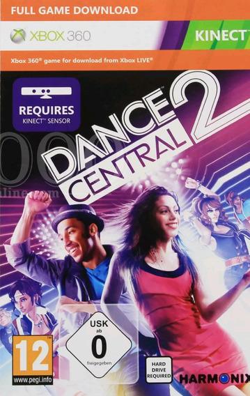 Dance Central 2 P/ Xbox 360 Código 25 Dígitos