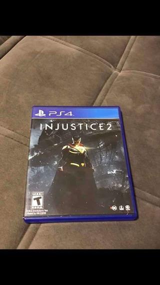 Jogo Injustice 2- Em Mídia Física Para Ps4