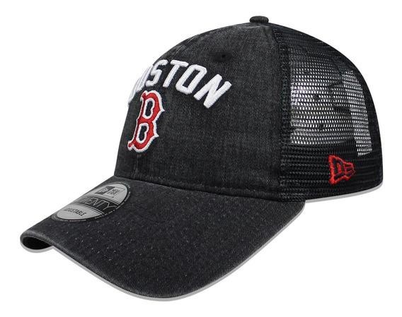 Gorra New Era 9 Twenty Mlb Red Sox Rugged Team Negro