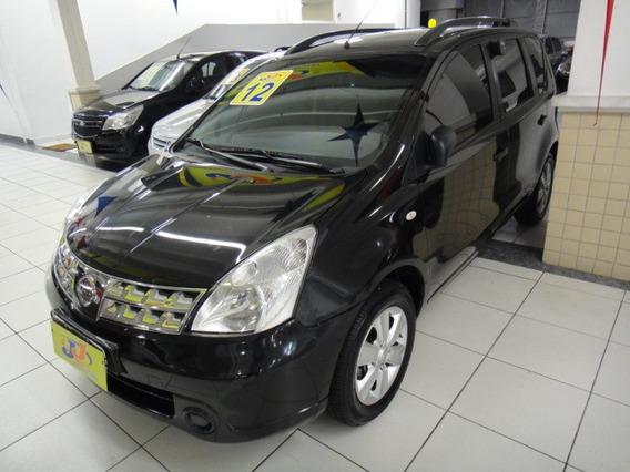 Nissan Livina 1.8 Sl Flex Autom. 5p Completa Abs Couro 2011