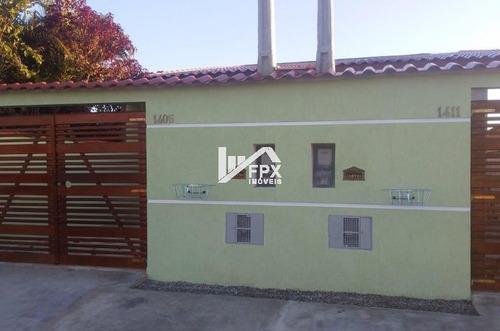 Casa Geminada Com 2 Quartos Em Itanhaém/sp Ca110-pc