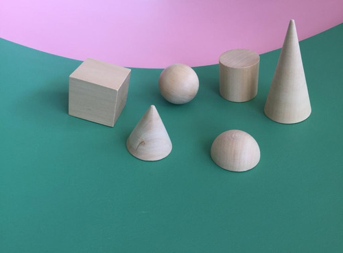 Imagen 1 de 3 de Figuras Geométricas Montessori