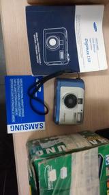 Samsung Digimax 130 1.3mp Digital Camera - Usada Não Liga