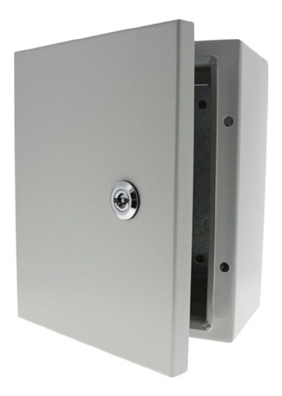 Gabinete Metalico 300x250x150 Mm 30x25x15 Cm Con Platina