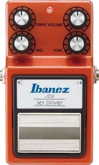 Pedal Ibanez Jd 9 Jet Driver Original Saldo!