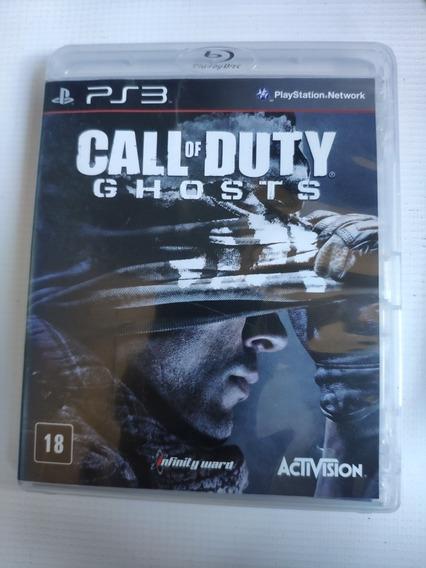 Call Of Duty Ghosts Ps3 Midia Física Semi Novo Original