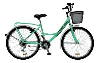 Bicicleta Tomaselli Lady Full Rodado 26 Mujer