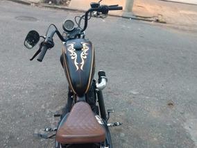 Harley Davidson 883 R Folha De Ouro