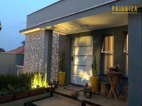 Imagem 1 de 19 de Casa À Venda, 377 M² Por R$ 1.378.000,00 - Jardim Santa Rosália - Sorocaba/sp - Ca0489