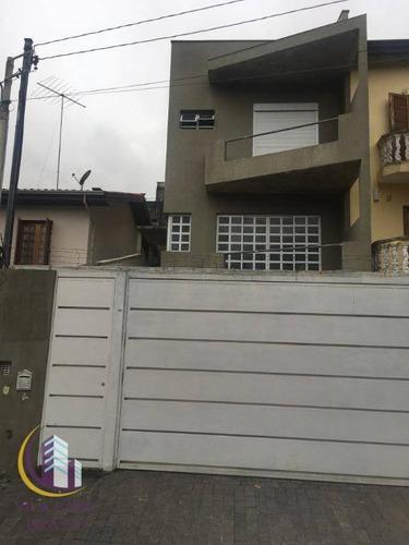 Sobrado À Venda, 230 M² Por R$ 950.000,00 - Parque Continental - São Paulo/sp - So0541
