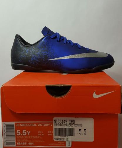 Nike Mercurial Victory Cr7  Futsala Para Joven 100%original