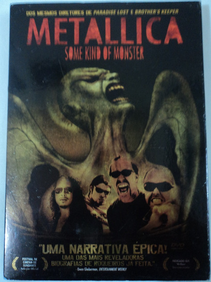 Dvd-metallica:some Kind Of Monster:rock:duplo:perfeito
