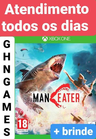 Maneater Xbox One + Brinde Mídia Digital Envio Imediato