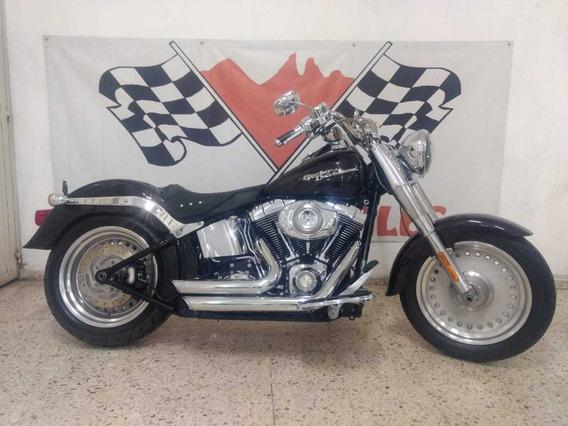 Harley-davidson Fat Boy Hermosa 1600cc 2008