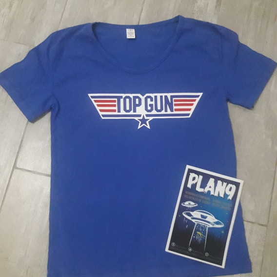 Remeras Estampadas Top Gun