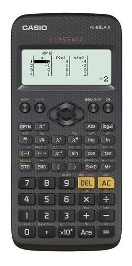 Calculadora Científica Casio Fx-82lax Classwiz - Preta