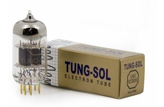 Valvula Tungsol 12ax7 Ecc803s Ecc83s Pinos Ouro Gold Pin