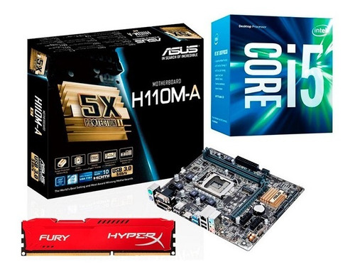 Kit Actualizacion Intel Core I5 6500 8gb Ddr4 6ta Generacion   Mercado Libre