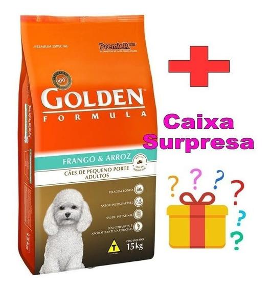 Ração Golden Fórmula Cães Adultos Mini Bits (raças Pequenas)