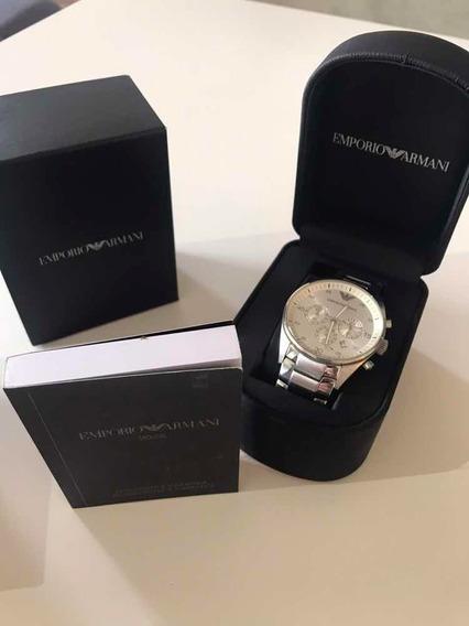 Relógio Empório Armani - Original Adquirido Nos Eua