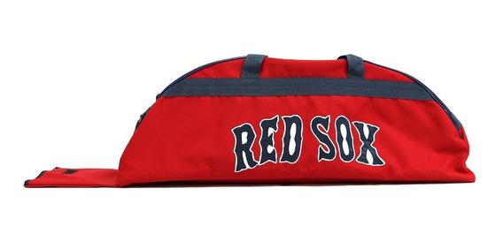 Bonita Batera Mochila De Beisbol Red Sox Rojo Juvenil
