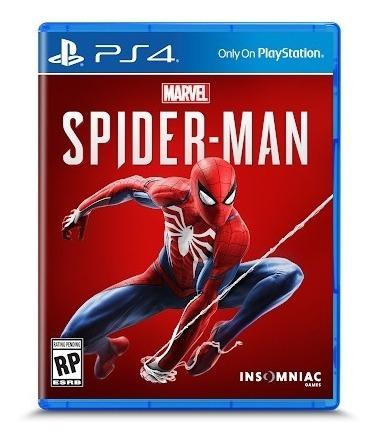 Spider Man Ps4 Midia Fisica Lacrado Pronta Entrega