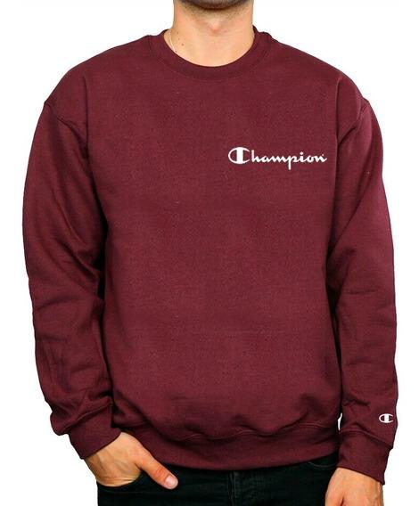 Sweater Champion Sin Capucha Algodón Para Dama Y Caballero