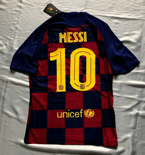 best sneakers 1f672 2328a Fc Barcelona Local Jugador Messi #10 2019/20 Jersey Playera