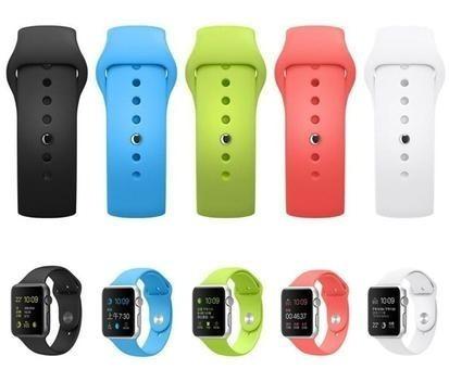Correa Extensible Silicon 38 40 42 44 Mm Para Apple Watch