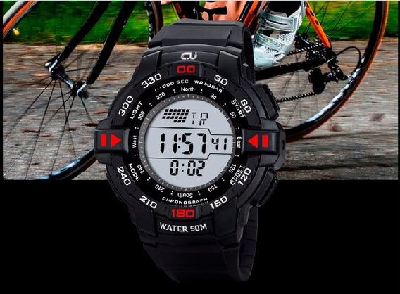 Relógio Digital Cj2001 - Original Digital Completo - 2 Cores