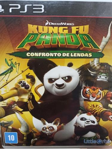 Kung Fu Panda Confronto De Lendas Ps3 Mídia Física