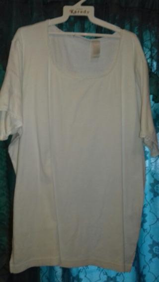 Blusa Blanca Extra Grande 2xx