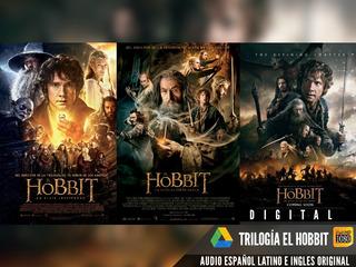 Saga El Hobbit Extended Hd 1080p Digital