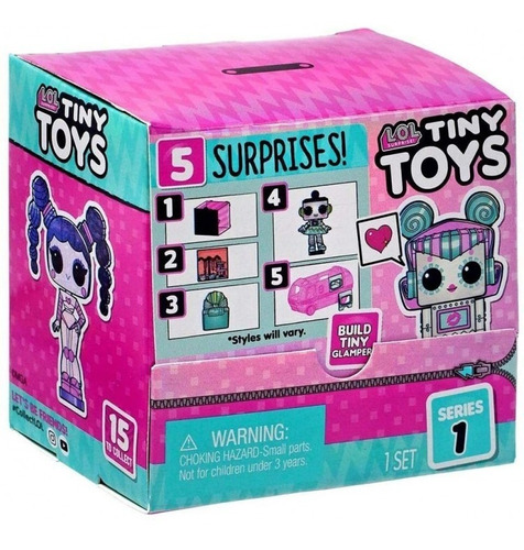 Lol L.o.l. Surprise Tiny Toys Colecciona Arma Mini Glamper